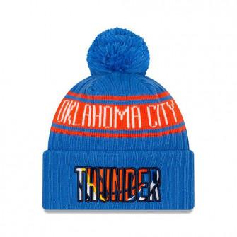 New Era NBA 2021 Draft OKC Thunder Cuff Beanie ''Blue/Orange''