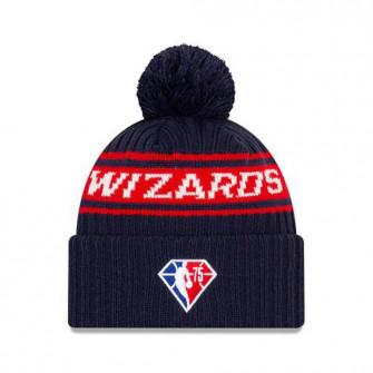 New Era NBA 2021 Draft Washington Wizards Cuff Beanie ''Black/Red''