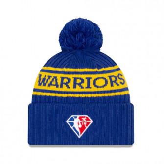 New Era NBA 2021 Draft Golden State Warriors Cuff Beanie ''Blue/Yellow''