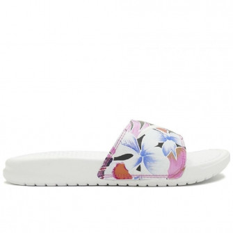Ženski natikači Nike Benassi Just Do It. Floral ''White''
