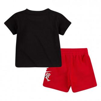 Air Jordan Jumpman Classic T-Shirt and Shorts set ''Black/Red''