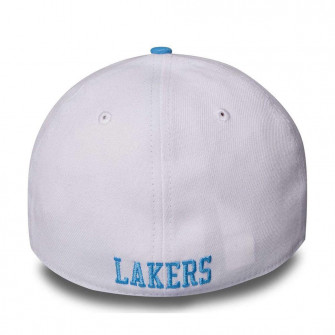 New Era NBA LA Lakers Hardwood Classics Nights 39Thirty Cap ''White/Blue''