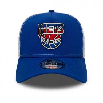 New Era NBA Hardwood Classic A-Frame Brooklyn Nets Trucker Cap ''Blue''