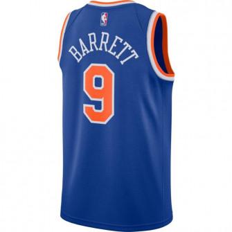 Nike RJ Barrett New York Knicks Icon Edition Swingman Jersey ''Rush Blue''