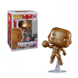 Funko POP! Chicago Bulls Michael Jordan Bronze Figure