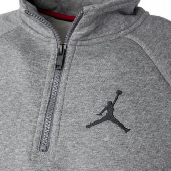 Air Jordan Jumpman 1/2 Zip-Up ''Carbon Heather''