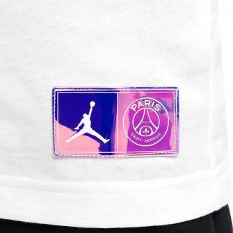 Air Jordan Paris Saint-Germain Logo Kids T-Shirt ''White''