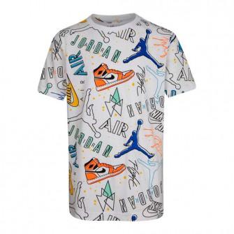 Air Jordan Playground Kids T-Shirt ''White''