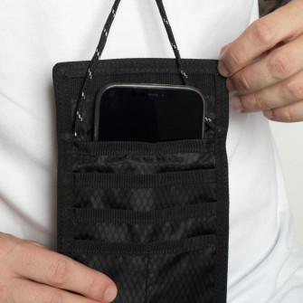 Air Jordan Jumpman Tri-Fold Wallet Pouch Bag ''Black''