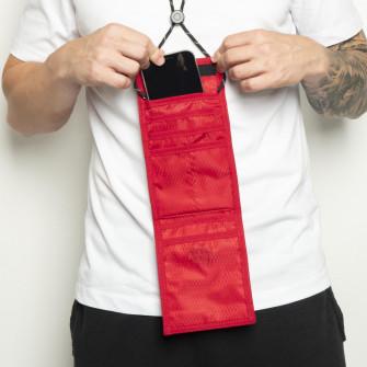Air Jordan Jumpman Tri-Fold Wallet Pouch Bag ''Red''