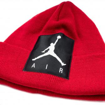 Air Jordan Offset Patch Beanie Kids Set ''Red''