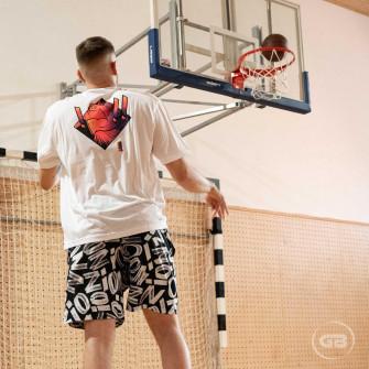Air Jordan Dri-FIT Zion Performance Shorts ''Black/Smoke Gray''