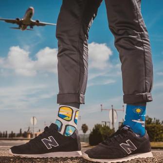 Spox Sox Airplanes Socks