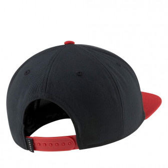 Air Jordan Pro Jumpman Snapback Cap ''Black/Gym Red''