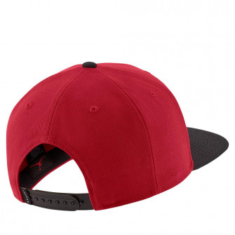 Air Jordan Pro Jumpman Snapback ''Gym Red/Black''