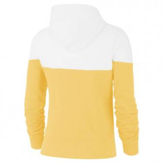 Nike Sportswear Heritage WMNS Fleece Hoodie ''Topaz Gold/White''