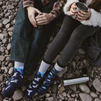 Spox Sox Arctic Whales Socks