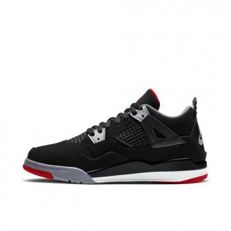 Otroška obutev Air Jordan Retro 4 ''Bred'' (PS)