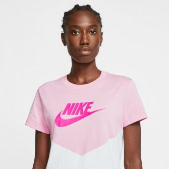 Nike Sportswear Heritage WMNS T-Shirt ''Pink Rise/White''