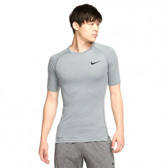 Nike Pro Short-Sleeve Top ''Smoke Grey''
