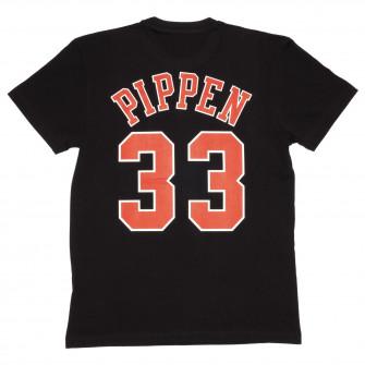 M&N NBA Chicago Bulls Scottie Pippen HWC Edition T-Shirt ''Black''