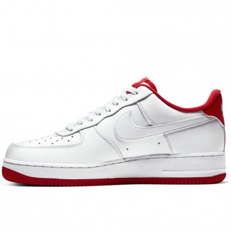 Nike Air Force 1 '07 ''White/University Red''