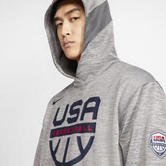 Nike USA Basketball Spotlight Hoodie ''DK Grey Heather''