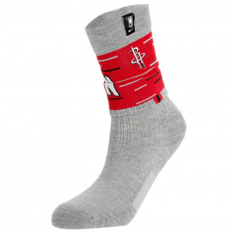 Nike NBA Crew Houston Rockets Courtside Socks ''DK Grey Heather''