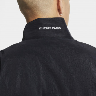 Air Jordan Anthem Paris Saint-Germain Jacket ''Black/Bordeaux''