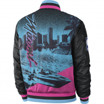 Nike NBA City Edition Courtside Miami Heat Jacket ''Black''