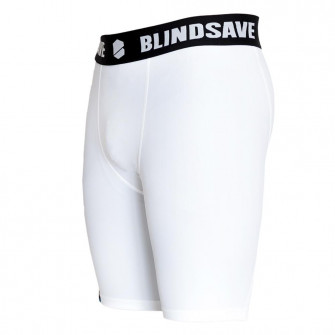 Blindsave Compression Shorts ''White''
