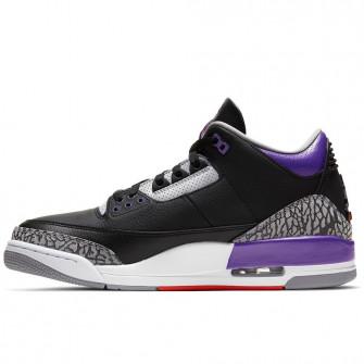 Air Jordan Retro 3 ''Court Purple''