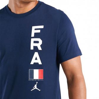 Air Jordan Dri-FIT Team France T-Shirt ''College Navy''