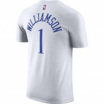 Nike NBA New Orleans Pelicans Zion Williamson City Edition T-Shirt ''White''