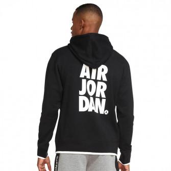 Air Jordan Jumpman Classics Printed Fleece Hoodie ''Black''