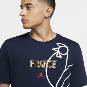 Air Jordan France FFBB T-Shirt ''College Navy''