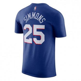 Nike NBA Philadelphia 76ers Ben Simmons T-Shirt ''Blue''