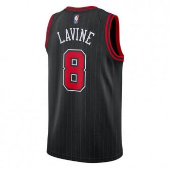 Air Jordan NBA Bulls Zach LaVine Statement Edition Swingman Jersey ''Black''