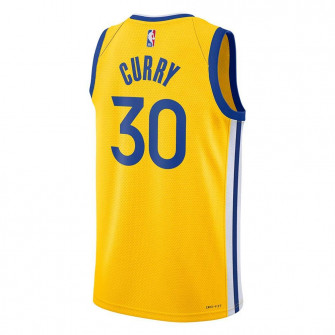 Air Jordan NBA Warriors Stephen Curry Statement Edition Swingman Jersey ''Yellow''