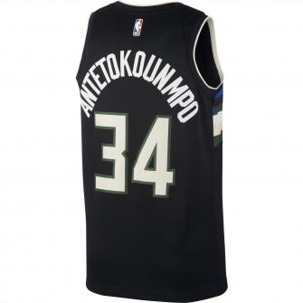 Air Jordan NBA Giannis Antetokounmpo Bucks Statement Edition 2020 Swingman Jersey ''Black''