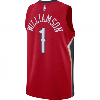 Air Jordan Zion Wiliamson Pelicans Statement Edition Swingman Jersey ''Red''