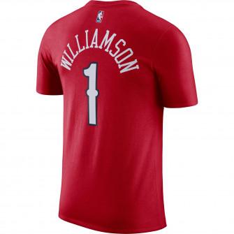 Air Jordan NBA Statement Edition Pelicans Zion Williamson T-Shirt ''University Red''