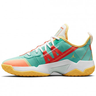 Air Jordan Westbrook One Take II ''Teal/Orange Yellow''