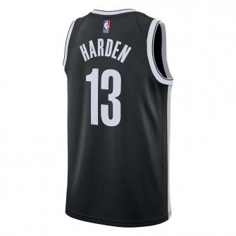 Nike NBA Brooklyn Nets James Harden Icon Edition Swingman Jersey ''Black''