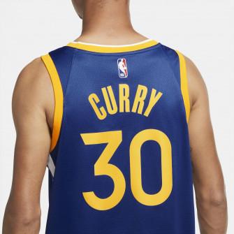 Nike NBA Warriors Stephen Curry Icon Edition Swingman Jersey ''Blue''