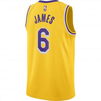 Nike NBA Swingman LeBron James Lakers Icon Edition Jersey ''Amarillo''