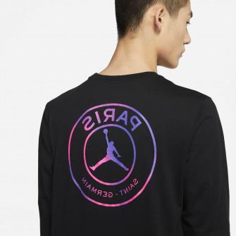 Air Jordan Paris Saint-Germain Long-Sleeve Shirt ''Black''