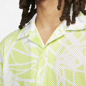 Air Jordan Flight Printed Button Down Shirt ''Limelight''