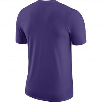 Nike NBA Los Angeles Lakers Logo Earned Edition T-Shirt ''Purple''