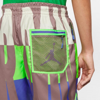 Air Jordan Wings Poolside Shorts ''Green Strike''